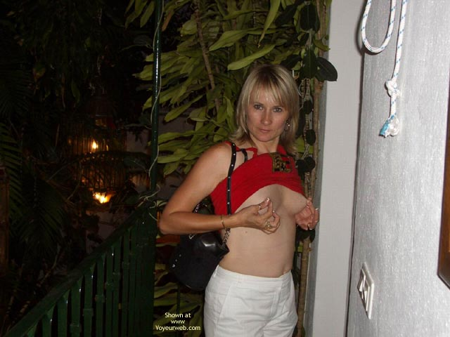 Pic #1 Tits Out at The Playboy Mansion Marbella Spain