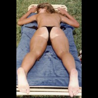 Danielle Sunning In The Sand