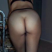 Gorgeous Ass in Fishnets