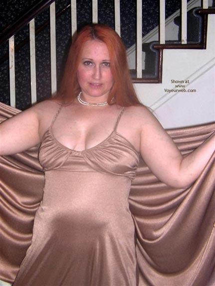 Pic #1 Naughtysimone Flashes Her New Dress