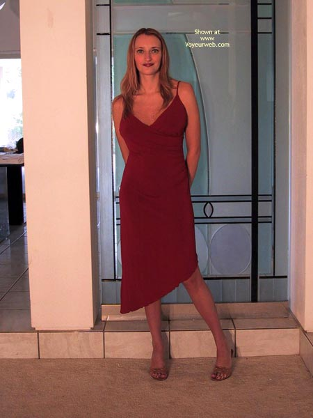 Pic #1Heatherpink'S New Red Dress