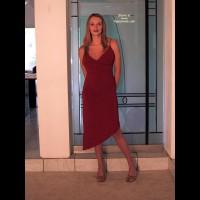 Heatherpink'S New Red Dress