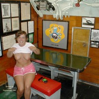 Wife on USS Alabama