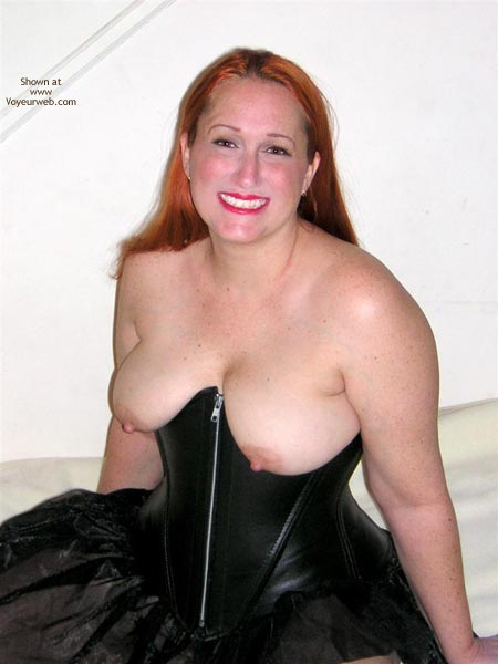 Pic #1 Naughtysimone Leather Corset