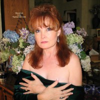 Redhead Dropping Her Bodice , Redhead Dropping Her Bodice, Hands On Boobs, Redhead  Covered Up