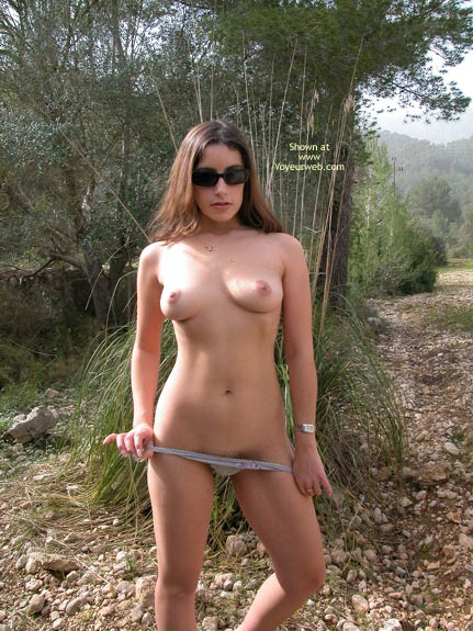 Nude Outside - Nude Outdoors, Sexy Panties , Nude Outside, Pulling Down Panties