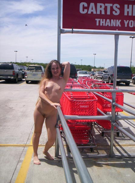Nude Parking Lot Surprise - Exposed In Public , Nude Parking Lot Surprise, Nude In Car Park, Public, Barefoot Teaser Wearing Nothing, Public Place