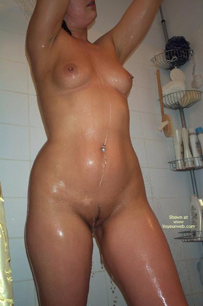 Pic #1 Having A Shower