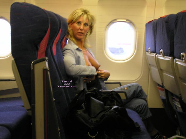 Wife Flashing Tits In Airplane - Erect Nipples, Flashing Tits, Flashing, Hard Nipple, Hot Wife , Tits On Airplane
