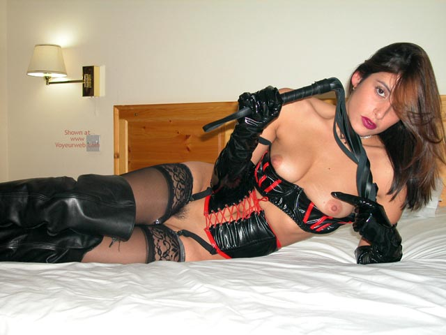 Pic #1 The Sexy Ex In Pvc, Leather And Lace