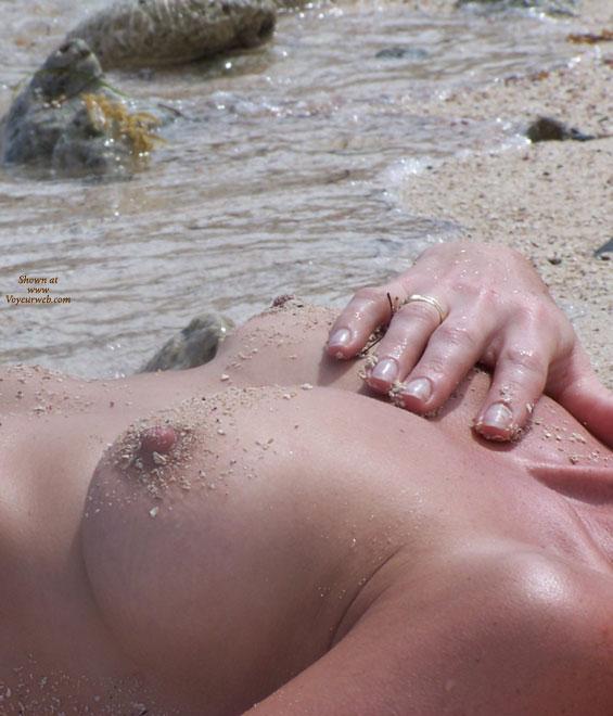 Nipple Shot - Hard Nipple, Topless Beach , Nipple Shot, Topless Beach, Boob Close Up, Tits On The Beach, Beach Boobs, Hard Nipples, Sandy Boobs