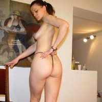 Sarah Showing Off