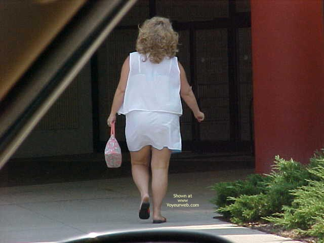 Pic #1 Out Shopping And Flashing Around Town