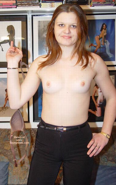 Pic #1 Ashley, The Amateur Stripper