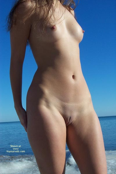 Shaved Pussy - Shaved Pussy , Shaved Pussy, Nude Out Doors, Erect Nippls, Standing Nude On The Beach
