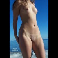 Shaved Pussy - Shaved Pussy , Shaved Pussy, Nude Out Doors, Erect Nippls, Standing Nude On The Beach