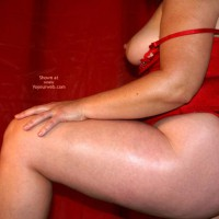 Oh Wife'S Red Corset