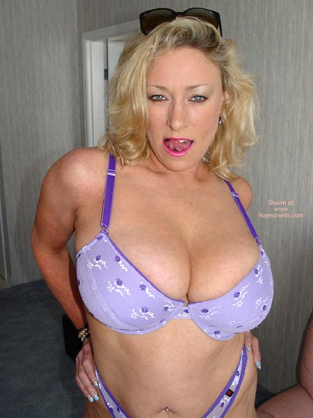 Pic #1 Ashley In Purple