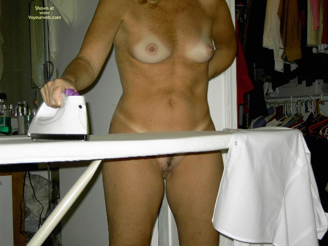 Pic #1 Naked While Ironing