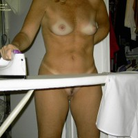 Naked While Ironing