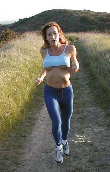 Pic #1 Kim4kate Blue Spandex