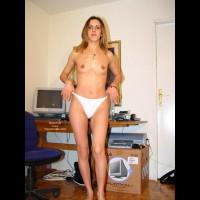 Alexis In White Panties
