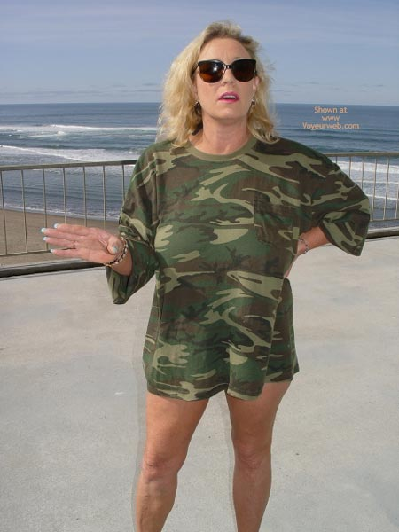 Pic #1 Ashley In Camoflge