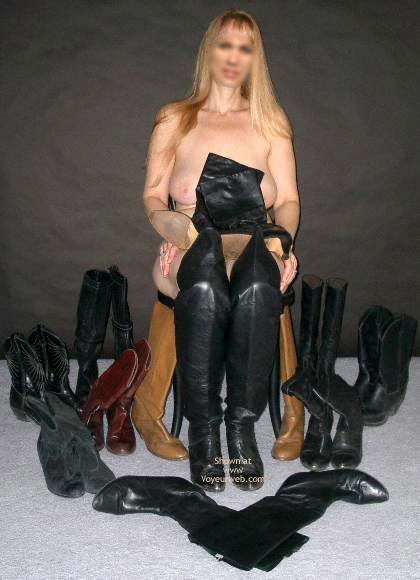Pic #1 Ms. Jones' Boot Collection