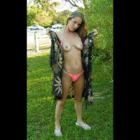 Open Blanket - Pleasure, Small Tits , Open Blanket, Public Pleasure, Small Tits, Public Flash, Bikini Pulled Down