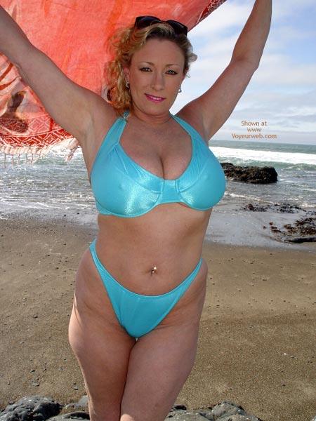 Pic #1Ashley On The Beach