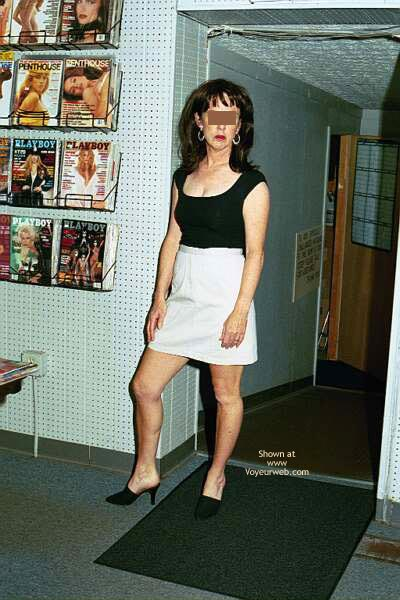 Pic #1 Flash At Adult Bookstore 1