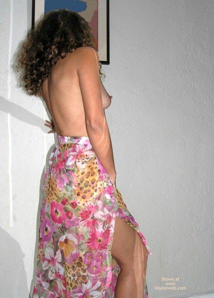 Pic #1 Brazilian Wife Skirt On