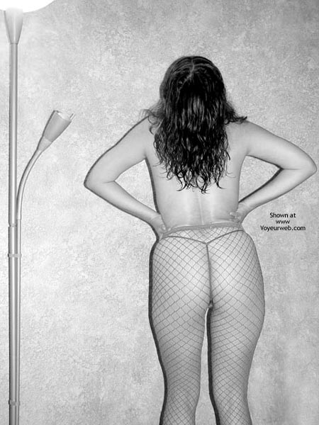 Pic #1 Fishnets In B And W