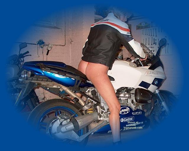 Pic #1 On Bike A Moto!