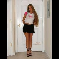 Good Girl Cute In Skirt