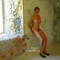 Tina In Porquerolles' Island