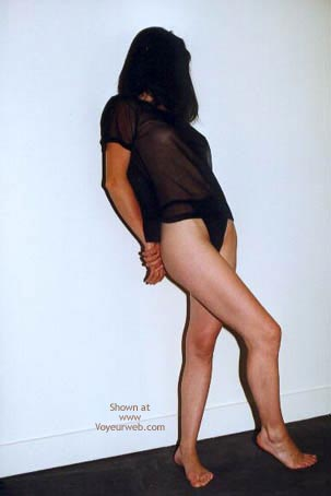 Pic #1 Fanny In Black And Nude