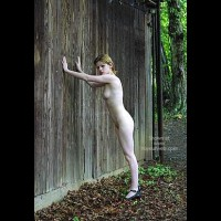 Csilla In The Romanian Wood 1
