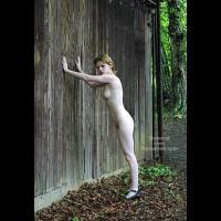 Csilla In The Romanian Wood 1