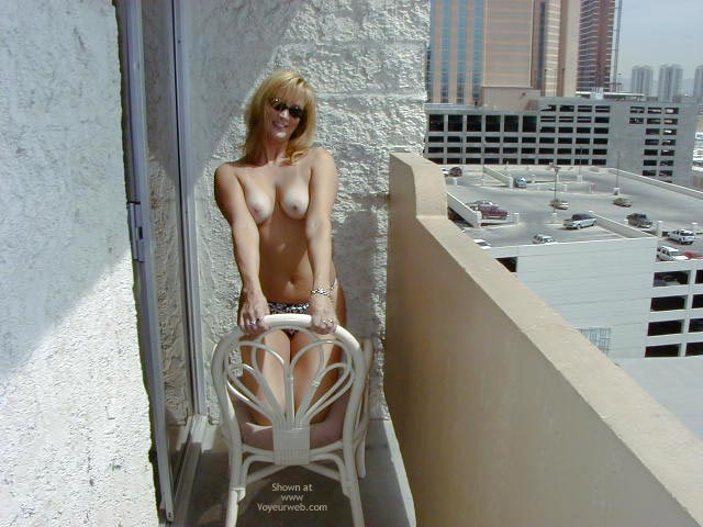 Pic #1 Alex A Morning On The Balcony