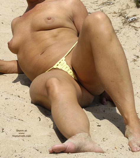 Pic #1 Micro Bikini At The Beach