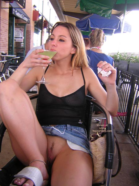 Exposed Pussy In Public - June, 2004 - Voyeur Web Hall Of Fame-2699