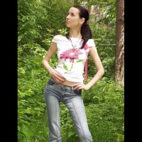 Nikky 20yo Took Her Shirt Off