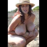 Giant Tits - Huge Tits, Large Aerolas, Large Breasts , Nice Hat, Large Breast, Beautiful Large Breasts, Fully Packed, Round Mounds, Pendulous Breasts, Huge Beautiful Tits, E Cup, Jug Girl, Curly Hair