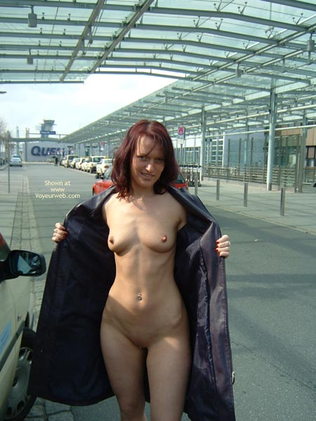 Exhibitionist Nude Flash - Exhibitionist, Flashing, Long Hair, Nude In Public, Red Hair, Naked Girl, Nude Amateur , Open Black Coat, Flashing Pussy, Redhead Walking, Coat Open, Traveling Light, Nude Girl Under Coat, Nothing To Hide, Long Coat Flasher, Public Nude, Flashing Tits