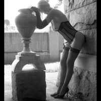 Classic Fetish Dress - Nude Amateur, Sexy Legs, Sexy Lingerie, Sexy Wife , Black Corset, Gloves, And Stockings, Outdoors In Lingere B&w, Corset And Vase, Black And White, Artsy Slender Blond Thoughtful And Sexy, Black And White Blond Outdoors In Hose And Corset, Outdoors In Lingere, Dressed For Sex, Artistic Nude Pose