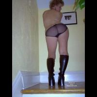 Hp Blue In Black Panties