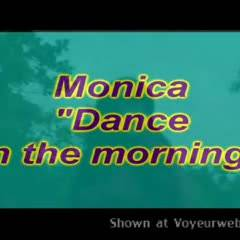 Monica - Dance In The Morning - Brunette, Striptease