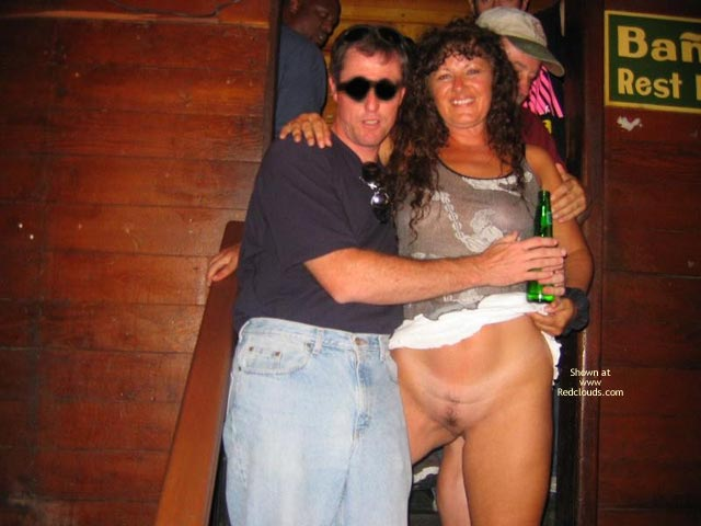 Pic #1Patricia Is Back Flashing At Clubs