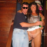 Patricia Is Back Flashing At Clubs